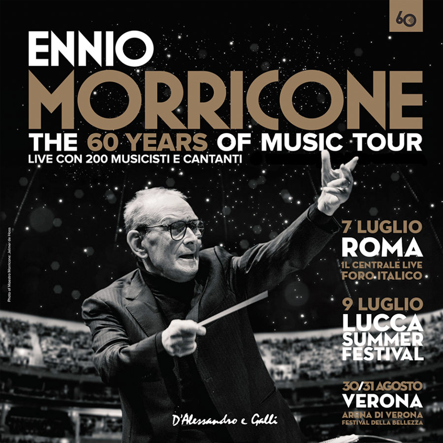 radio rentals service temporary wifi internet connection for Events. ENNIO MORRICONE 60 years tour