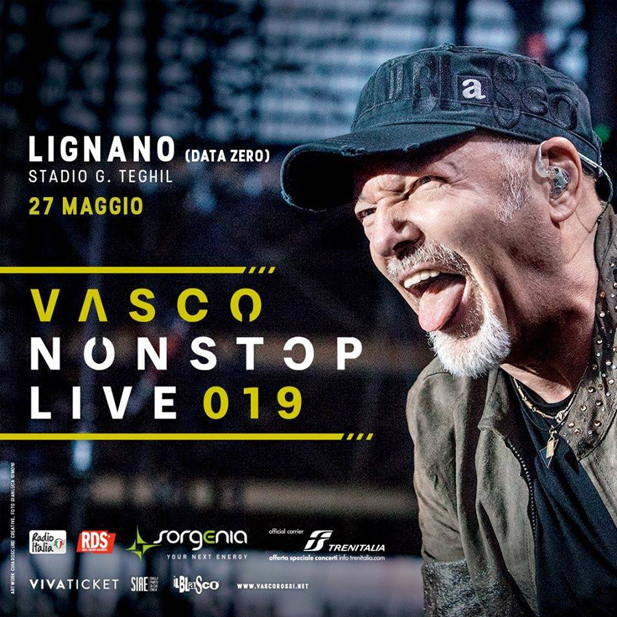 radio rentals service temporary wifi internet connection for Events. VASCO ROSSI NON STOP TOUR